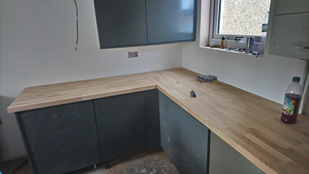 kitchen installation in hampshire, JB Home Improvements, carpentry